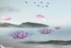 中国风-湖水