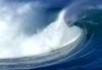 实拍海景海浪素材4