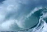 实拍海景海浪素材11