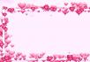 方块粉红色心