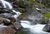 山间的溪流视频