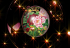 水晶球 牡丹 花瓣