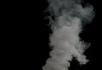 浓烟从地底喷涌而出