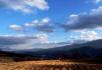 蓝天下的田地 白云