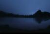 月亮 黑夜黎明
