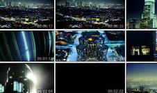 洛杉磯夜景 城市宣傳片 密布高樓