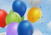 多彩气球LED大屏幕视频素材