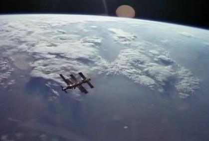 地球和卫星