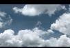 快速流动的云