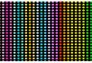 彩色循环闪光