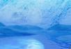 月夜杨柳湖光山色