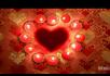 爱心蜡烛婚庆情人节