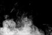 升腾的烟雾