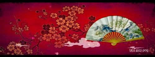 戲曲錦繡折扇