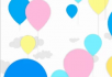 线条画气球