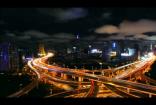 夜晚立交桥
