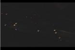 夜晚高速公路