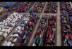 货仓集装箱码头货轮