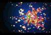 花朵飞舞粒子