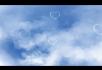 浪漫心型云朵