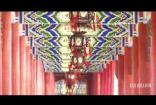 宫灯走廊古典建筑