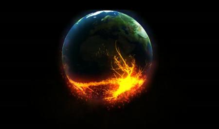 燃烧的地球