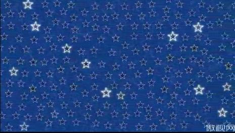 五角星滚动