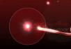 红色粒子照片