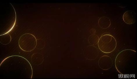 圆圈光线漂浮