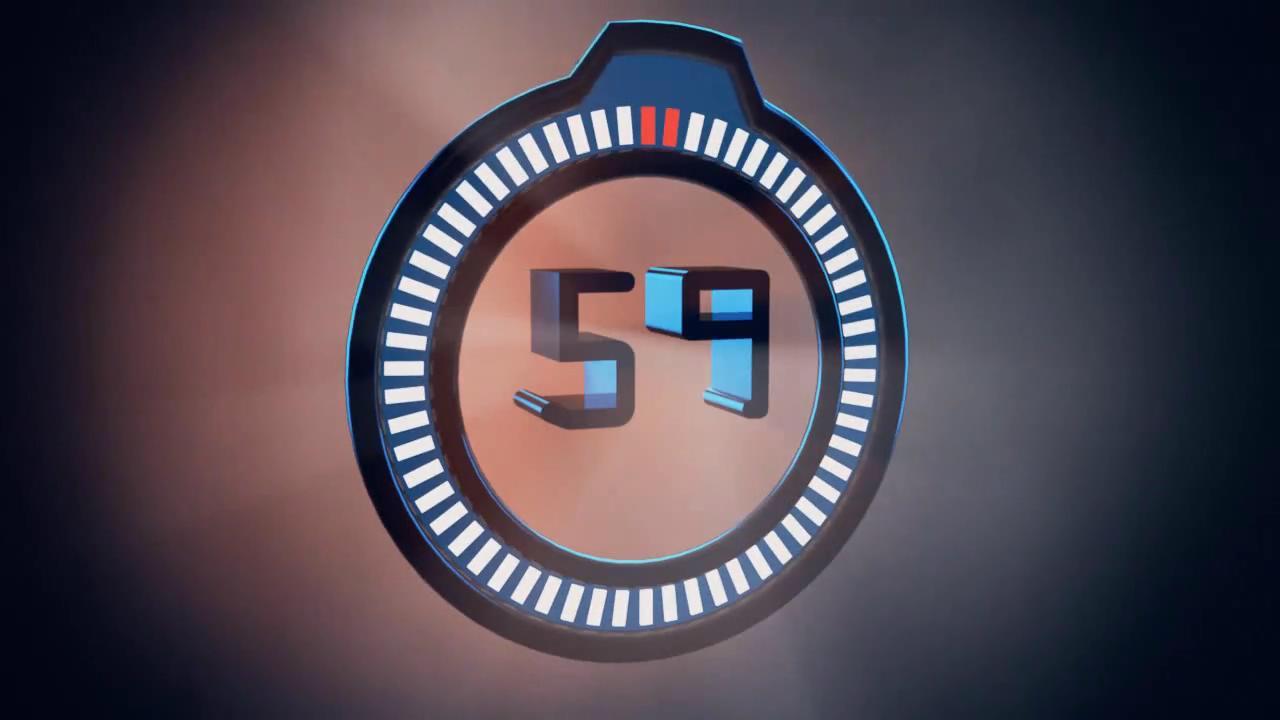 像是生命倒计时似的:一般而言,时钟象征时间,而倒计时的时间,通常代表