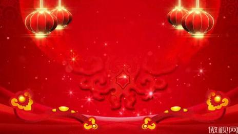 喜慶背景燈籠紅色晚會
