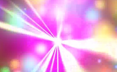 炫彩七彩粒子