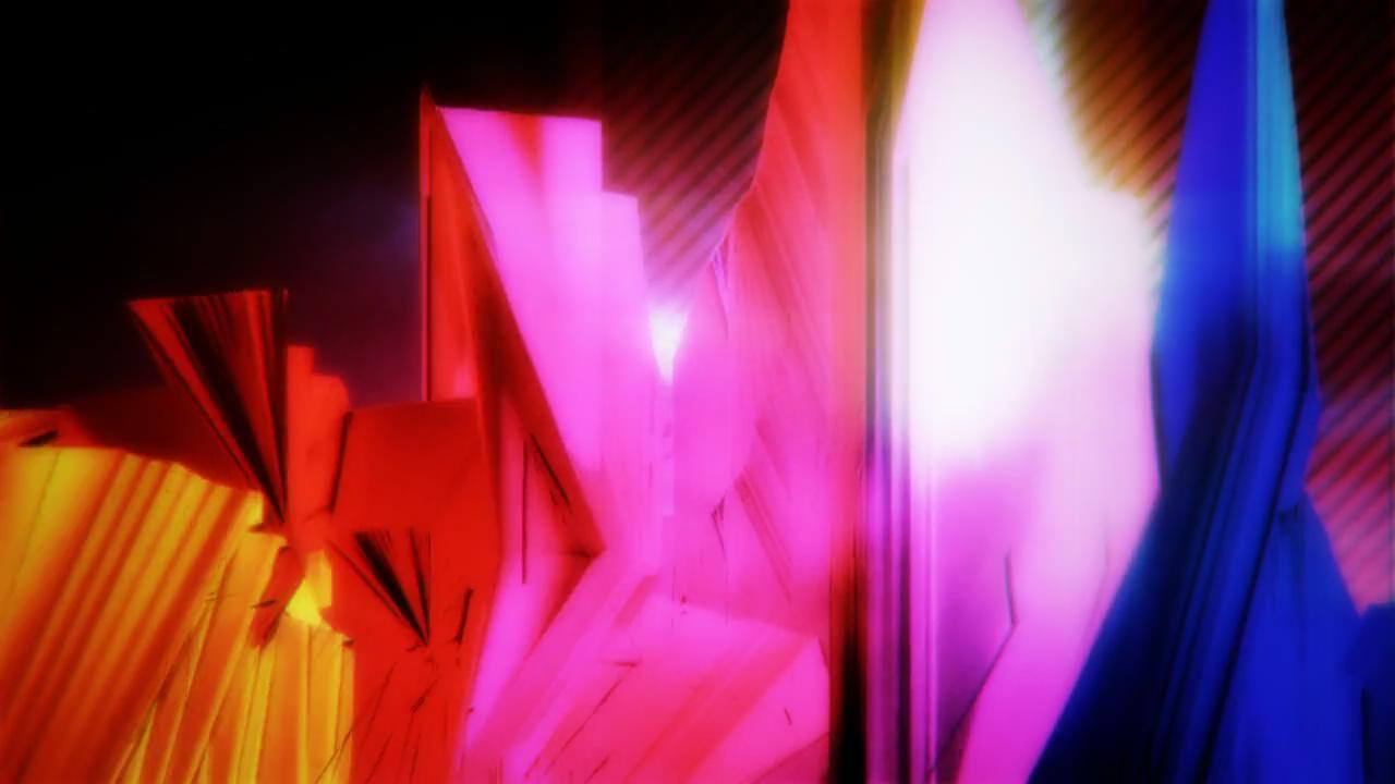 彩色抽象立体