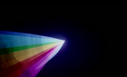 彩色循环旋转