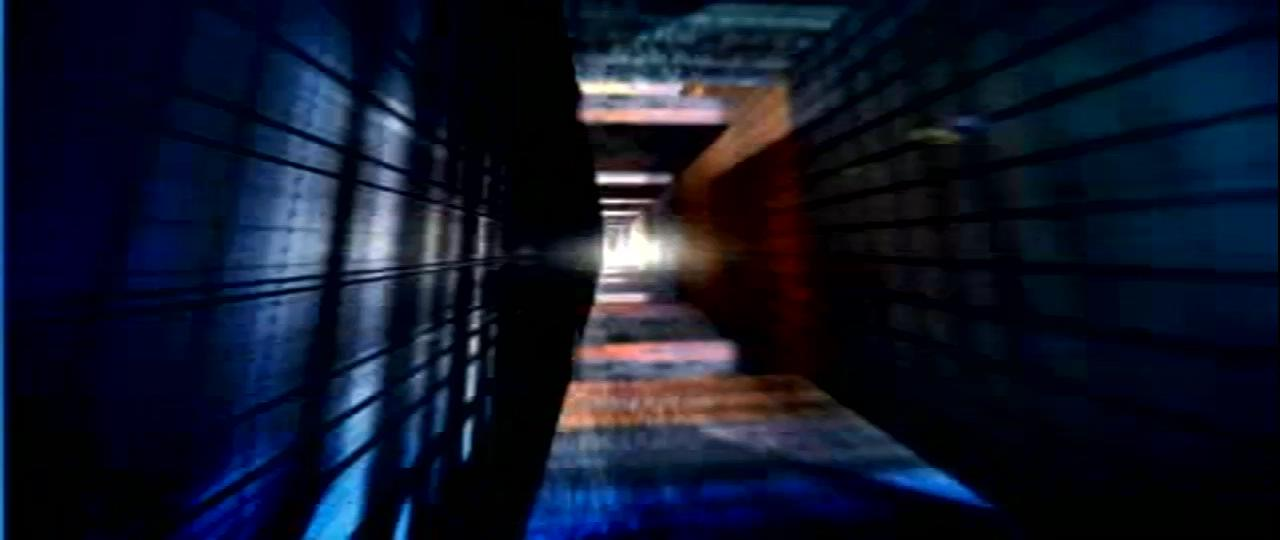 炫丽的隧道空间