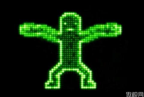 电子跳舞人