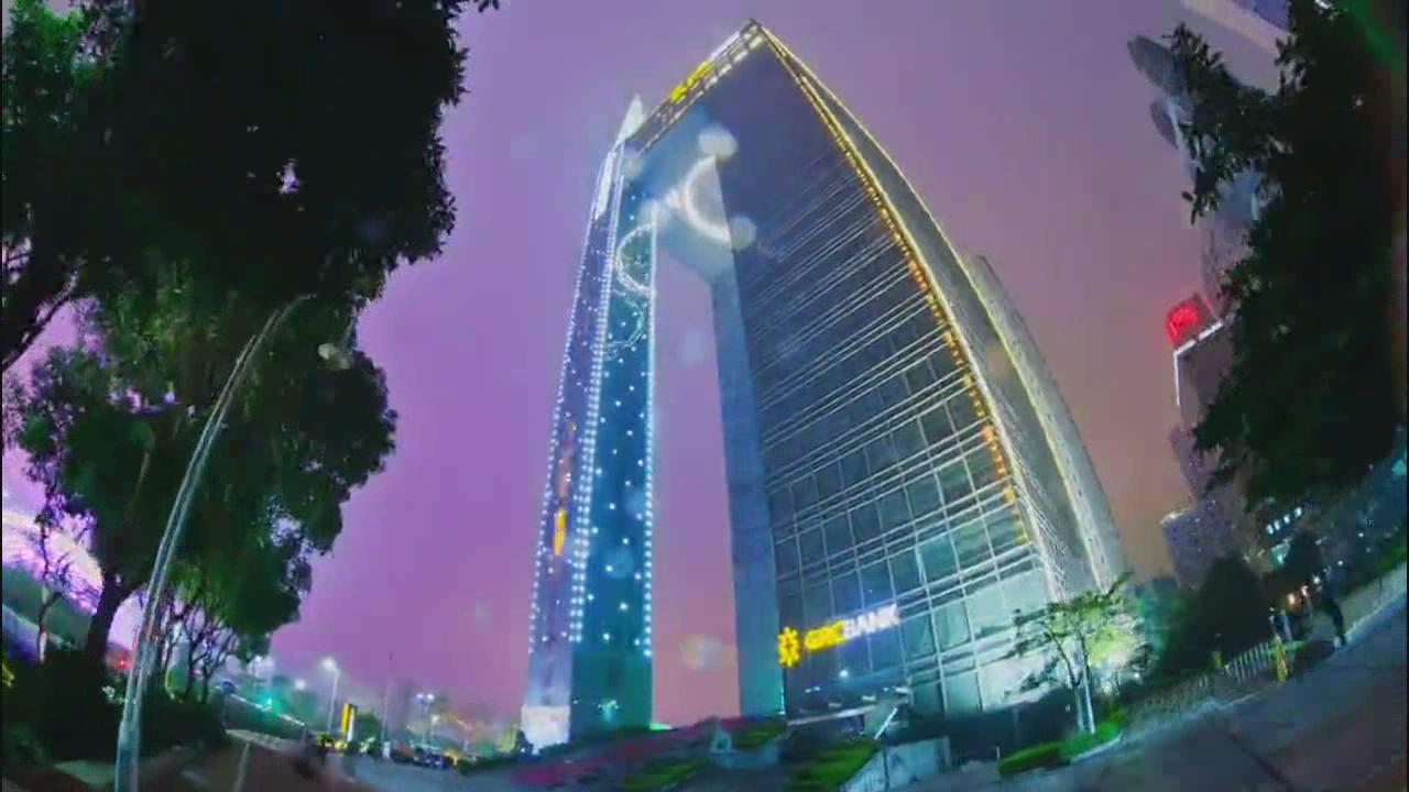延时摄影城市风光中国