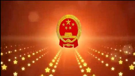 国徽五角星闪光