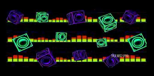 演译酒吧实用3d节奏强的音响