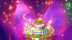 华丽生日蛋糕