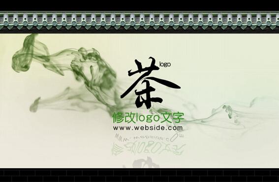 中国传统文化视频片头ae模板
