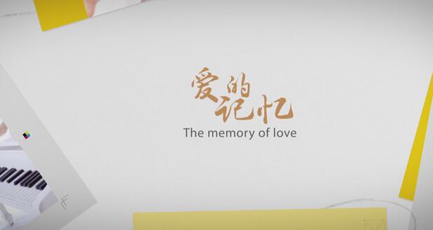 唯美婚礼视频MV婚礼相册模板