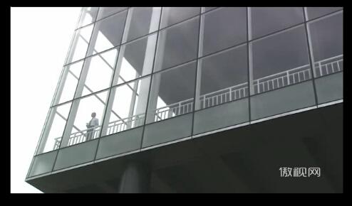 06商務成功人士眺望氣球