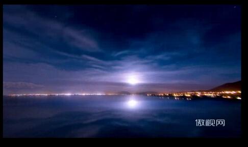 太陽升起的高清實拍視頻素材