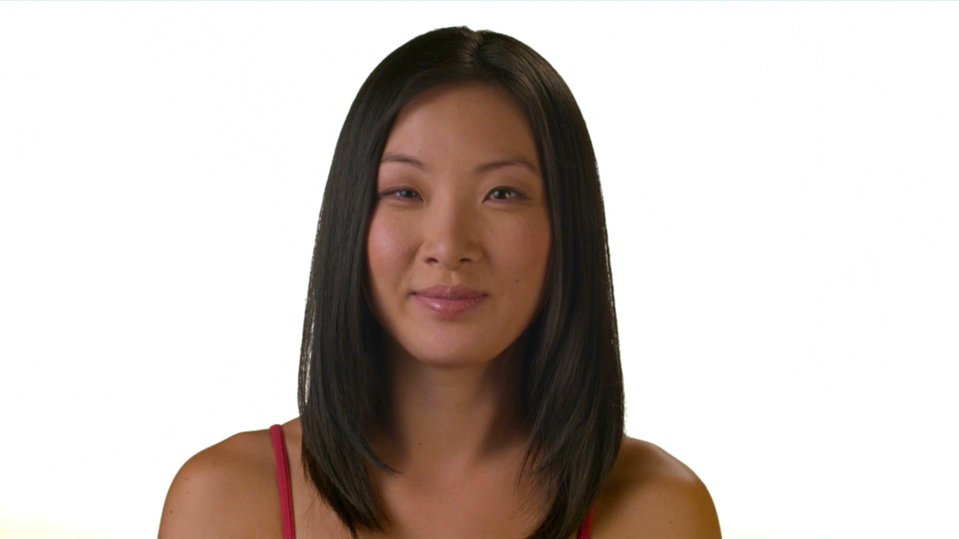人物表情脸部特写高清实拍视频素材