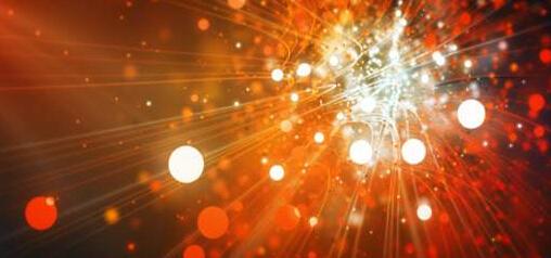 光线粒子汇聚标志展示模版(不含音乐)